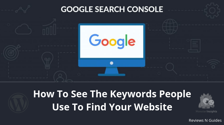 how to find keywords people use to find your website
