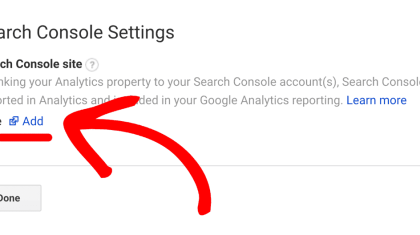 add google search console to wordpress site