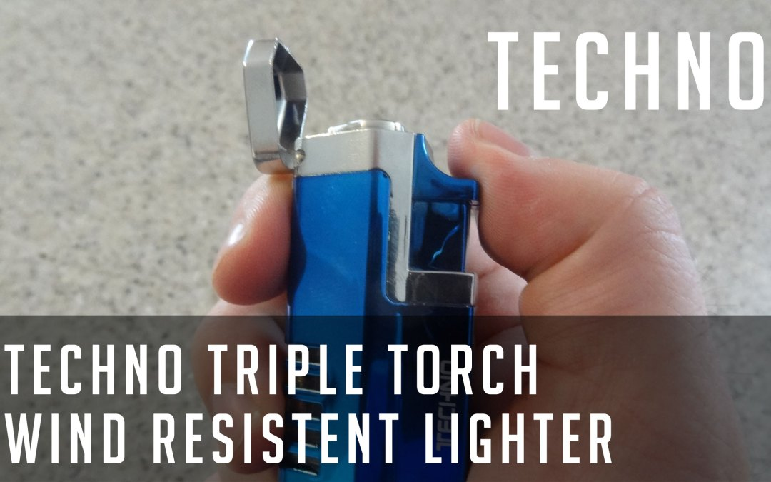 Review: Techno Triple Torch jetflame windproof lighter