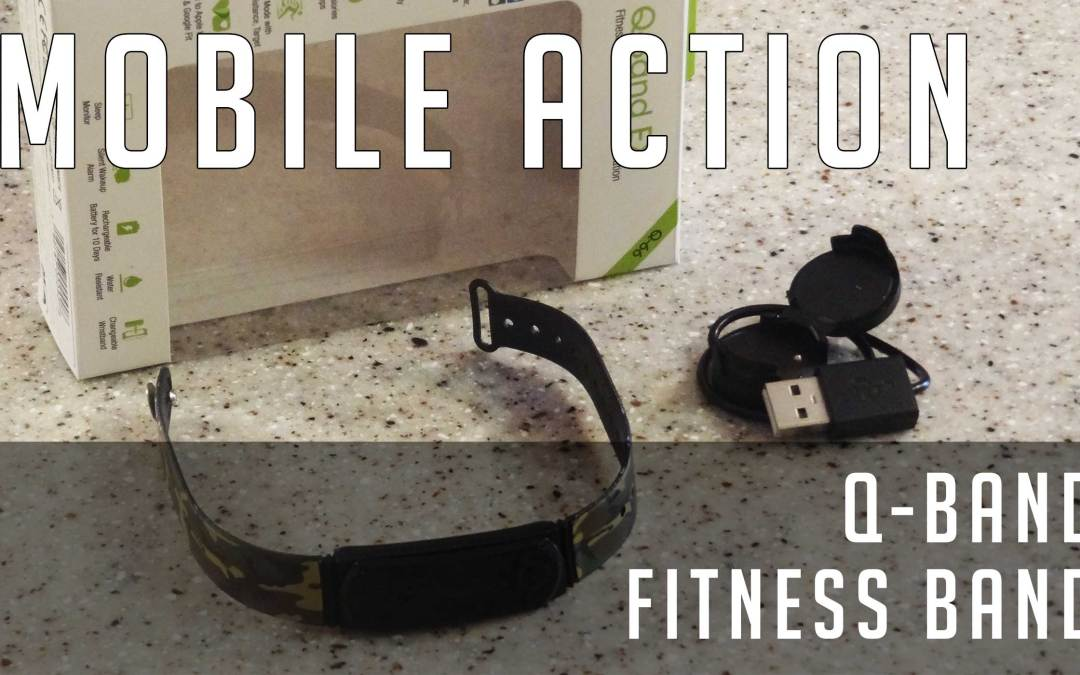 Review: Mobile Action Q-Band fitness tracker band