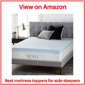 best mattress topper for stomach sleepers