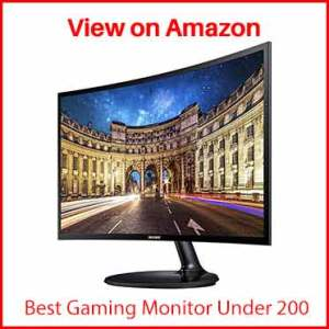 Samsung LC24F390FHNXZA 24-inch Curved LED
