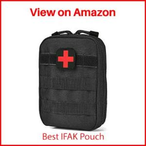Terrernce MOLLE EMT IFAK Pouch, Medical First Aid Tactical Pouch
