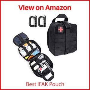 LIVANS Tactical First Aid Pouch, Molle EMT Pouches