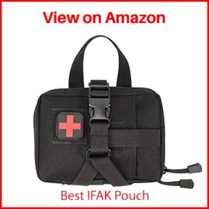 GZWEDO Military Tactical MOLLE First Aid Pouch