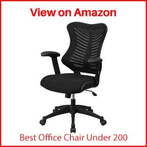 Flash Furniture Black Mesh Executive Swivel Ergonomic