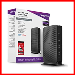 NETGEAR N600 WiFi DOCSIS Router for Spectrum