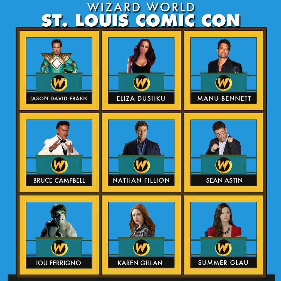 Preview Wizard World St Louis Comic Con 2014 (april 46