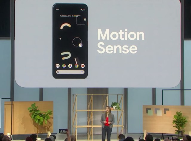Google Pixel 4's motion sense capability