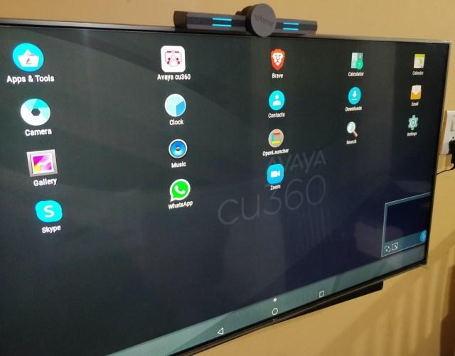 CU 360 apps interface