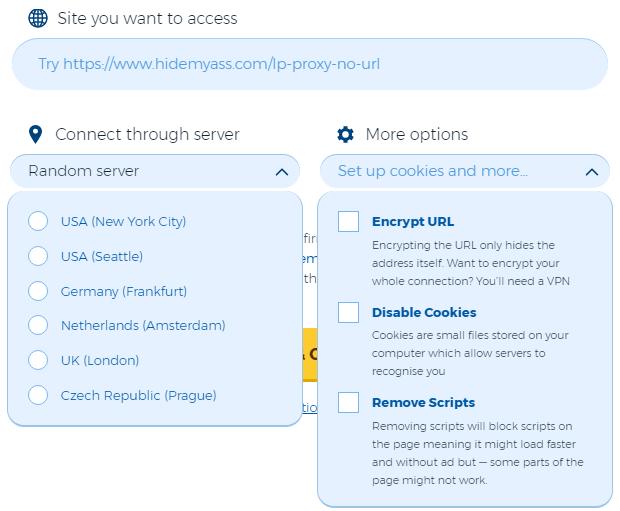 HidemyAss VPN Client