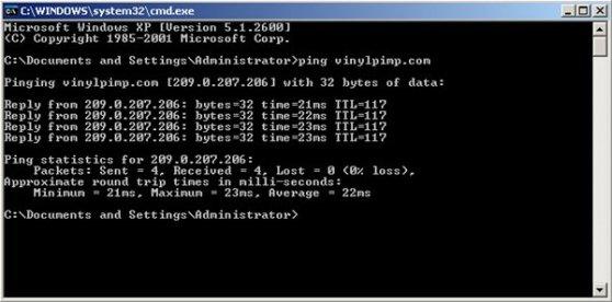 Ping Time Image