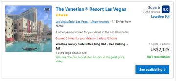 price booking a hotel in the US with a vpn