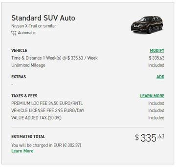 enterprise car rental price us
