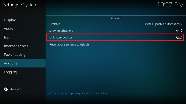 Step 4 Installing Yoda on Kodi