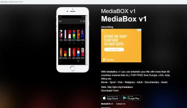 Mediabox website image