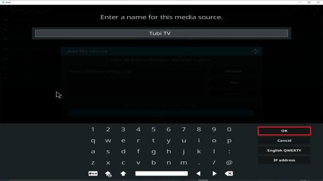 Step 13 Installing Tubi TV addon on Kodi