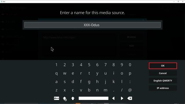 Step 13 Installing XXX-o-DUS redux addon on Kodi
