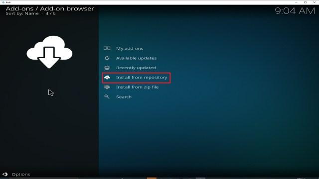 Step 19 Installing cCloud TV addon on Kodi