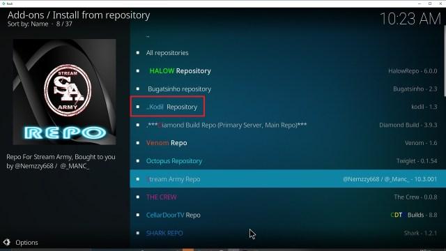 Step 20 Installing YouPorn addon on Kodi