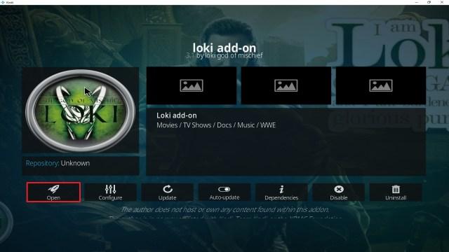 Step 27 Installing Loki addon on Kodi