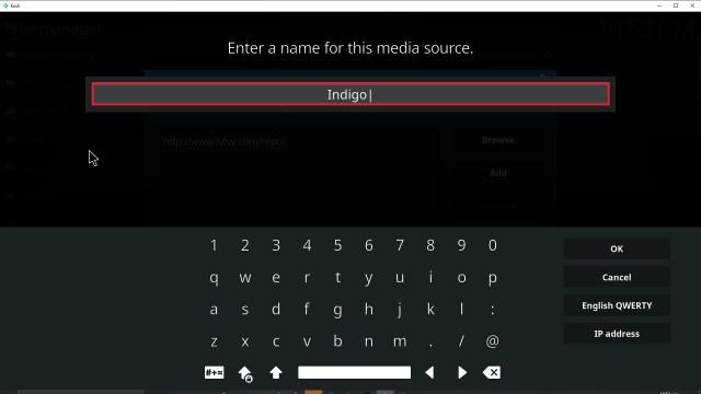 Step 12 Installing Indigo addon on Kodi
