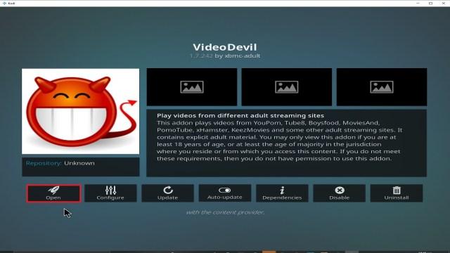 Step 29 Installing Video Devil Kodi addon on Kodi