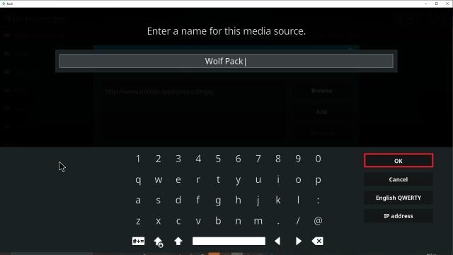 Step 13 Installing Wolf Pack addon on Kodi