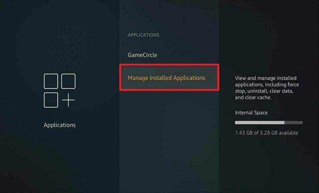 Step 2 Uninstall Apps on Firestick