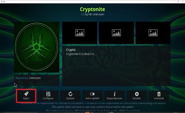 Step 27 Install Cryptonite on kodi