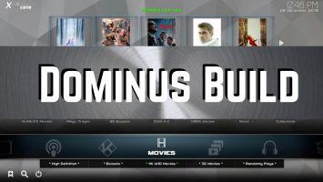 Dominus Kodi build logo