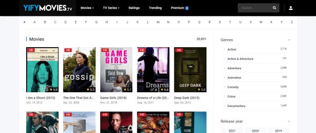 Yify Movies Screenshot