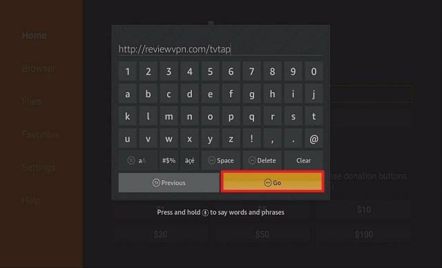 Step 12 Install TV Tap Pro on firestick