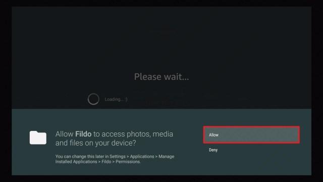 Step 23 Install Fildo Music