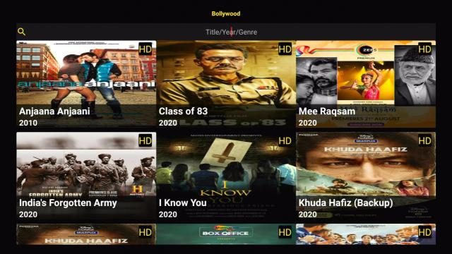 Install PikaShow on Firestick Bollywood Section