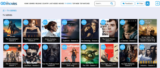 Go Movies Screenshot