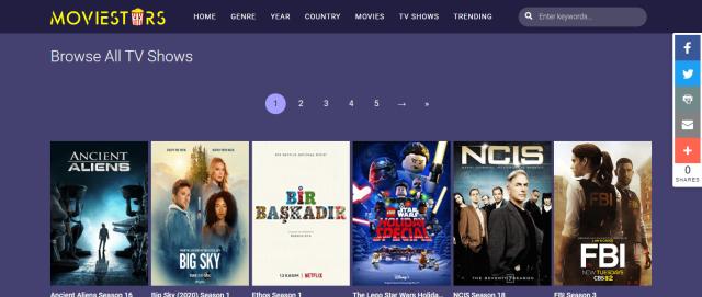 MovieStars Screenshot