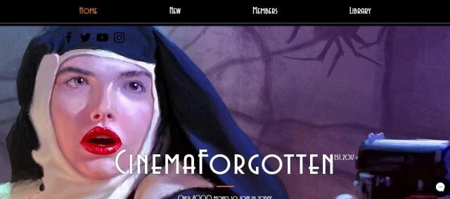 cinema forgotten