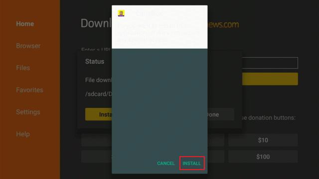 Install Cimabox1