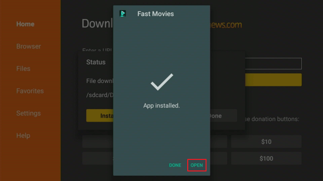 Install Fast Movies2