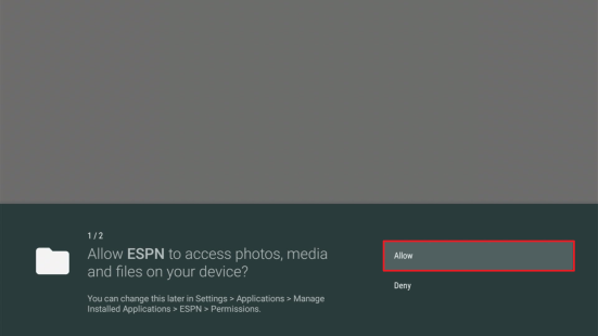 Install the ESPN App on your Fire TV Stick (Outside the US) 16