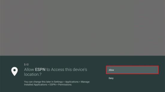 Install the ESPN App on your Fire TV Stick (Outside the US) 17