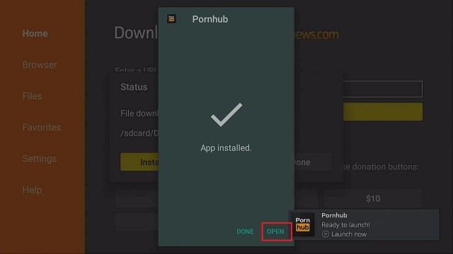 Step 3 Install Pornhub on firestick