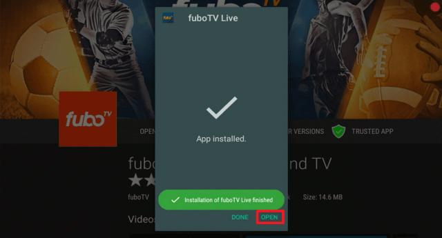 Install the FuboTV App on Firestick 23