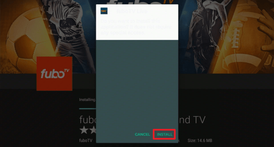 Install Fubo TV on your Fire TV Stick 23