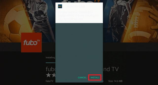 Install the FuboTV App on Firestick 21