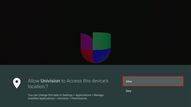 Install Univision3