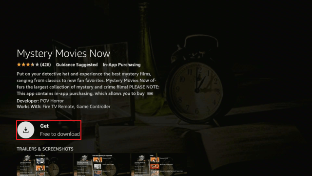Install Mystery Movies Now2