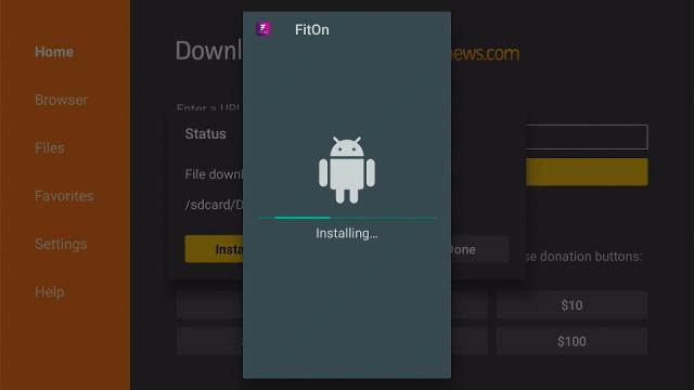 Step 17 Install FitOn Pro App on Firestick