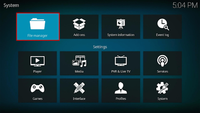 Install Ares Wizard and Reset Kodi By Default Step 5